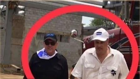 Carlos Aníbal Zúñiga y robert d'andrea